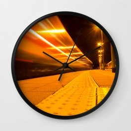 Train from Ulm Wall Clock