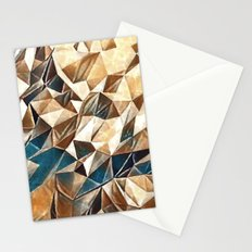 Abstract Polygon,Cubism,Low Poly,Triangle Design Stationery Cards