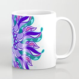 Vibrant Ribbon Mandala Coffee Mug