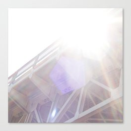Bridge in the Sun Canvas Print