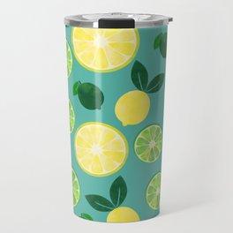 Lemon Lime Travel Mug