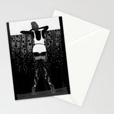 Comment Ca Va? - black&white Stationery Cards