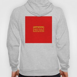 (ARTWORK) Red Hoody