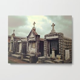 St. Louis Cematary #3 Metal Print