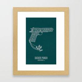 Sucker Punch Framed Art Print