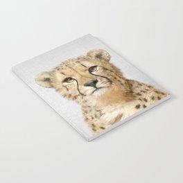 Cheetah - Colorful Notebook