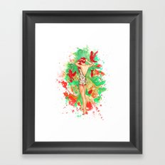 Praying For A Riot Framed Art Print