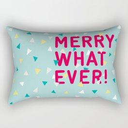 Merry Whatever Rectangular Pillow