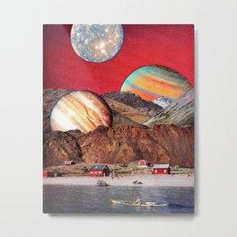 Dance of the Planets an Junburgsky Metal Print