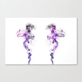 Smoking space Canvas Print