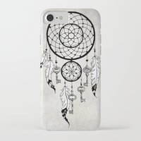 dreamcatcher iPhone & iPod Cases featuring Dreamcatcher by Nora Bisi