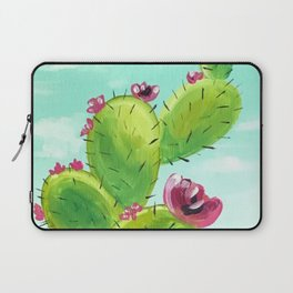 Potted Cactus Laptop Sleeve