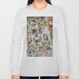 The ceiling of the Sistine Chapel Long Sleeve T-shirt