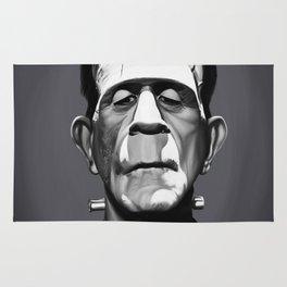 Boris Karloff Rug