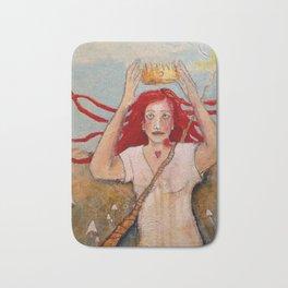 Crowning Herself Bath Mat