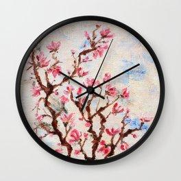 Sakura, spring Wall Clock