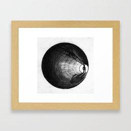 parallels Framed Art Print