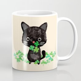 The Luckiest Cat Coffee Mug