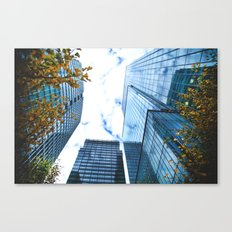 Between The Trees and Beyond  Canvas Print