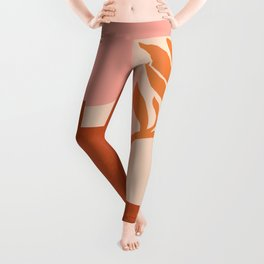 Abstraction_SUN_NATURE_Architecture_Minimalism_001 Leggings