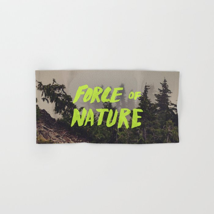 Force of Nature x Cloud Forest Hand & Bath Towel