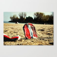 Crushed King Canvas Print