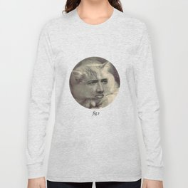 """fig.1"" grey Long Sleeve T-shirt"