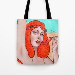 Hot Tote Bag