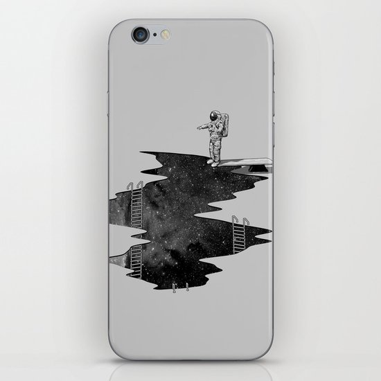 Space Diving iPhone & iPod Skin