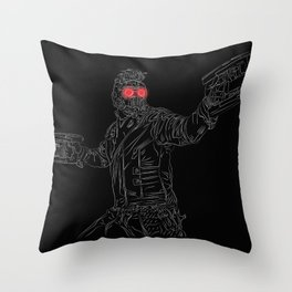 Star-Lord, GuardiansOfTheGalaxy Throw Pillow