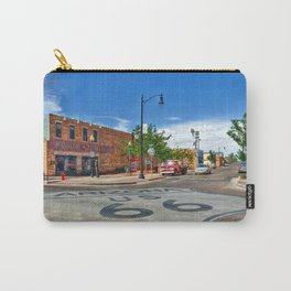 Standin on the Corner Route 66 in USA Carry-All Pouch