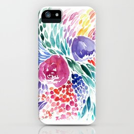 Floral Swirl iPhone Case