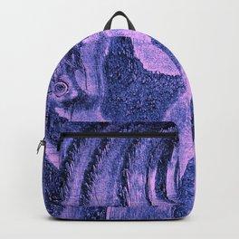 Purple Haze Melodic, Lyrical Pattern Backpack