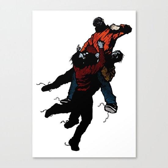 Hold On V2 Canvas Print