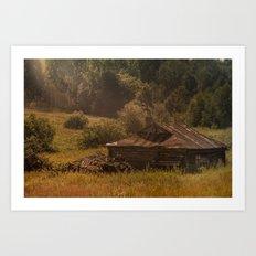Lost (in russian forests, smolenskaya oblast') Art Print