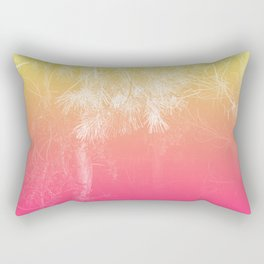 Flaming Forest Rectangular Pillow