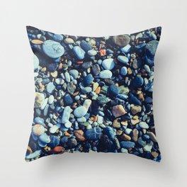 Wet Pebble Throw Pillow