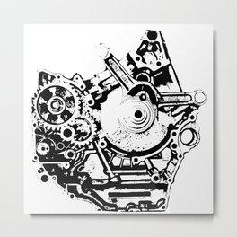 Busted Suzuki Metal Print