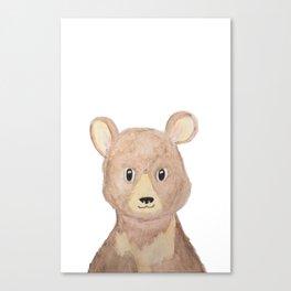 Man Cub Canvas Print
