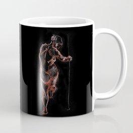 nude standing in the dark Coffee Mug