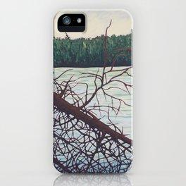 Raven Lake, Algonquin Park iPhone Case