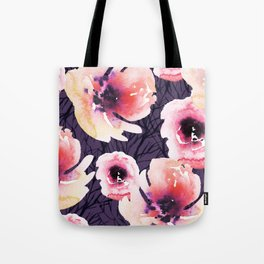 Roses on Sticks with Purple Tote Bag