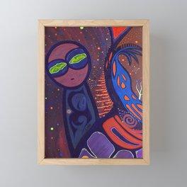 ONO (MACONDO GALAXY) Framed Mini Art Print