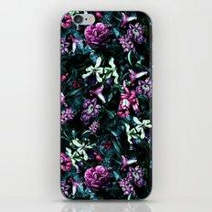 Flowers in the Dark iPhone Skin