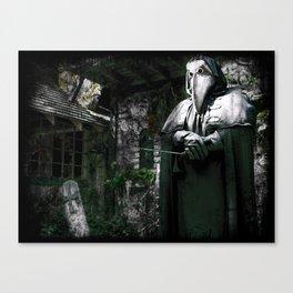 The Plague Doctor Canvas Print