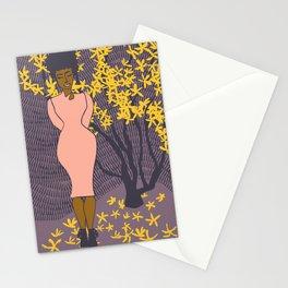 Forsythia Stationery Cards