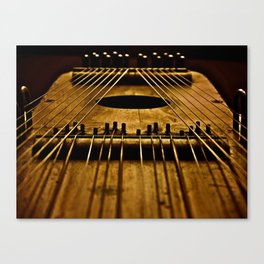 Ukelin Strings Canvas Print
