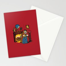 A Quiet Evening at Home Stationery Cards