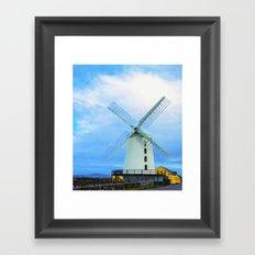 Blennerville Windmill, County Kerry, Ireland. Framed Art Print