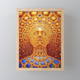 alex grey 2021 trans figuration Framed Mini Art Print